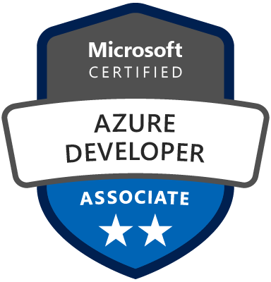 Picture of the Azure Developer Associate logo